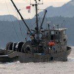 Drum net seiner in Johnstone Strait