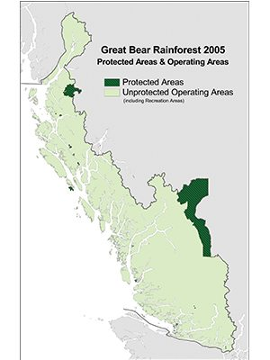 Great Bear Rainforest Map 2005