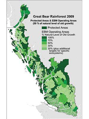 Great Bearforest Map 2009