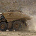 mining truck dust