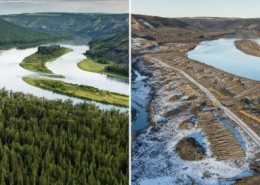 Garth Lenz site c