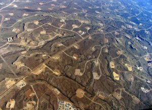 Fracked Landscape - Photo by Simon Fraser University - University Communications