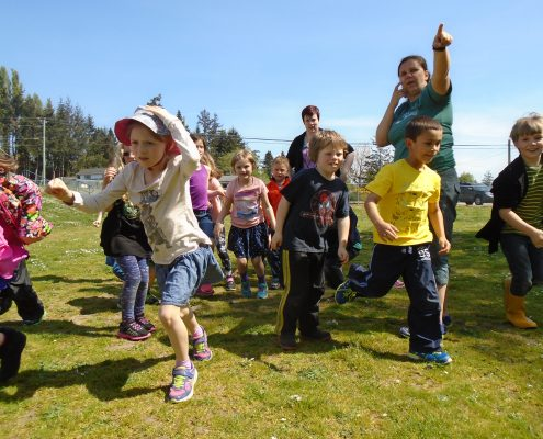 Education program at John Muir in Sooke