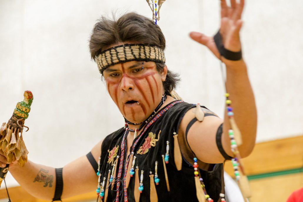 Dancer at Salish Sea Gathering, Photo by Sean Saulnier