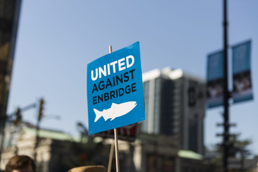 United Against Enbridge. Photo by Wayne Worden
