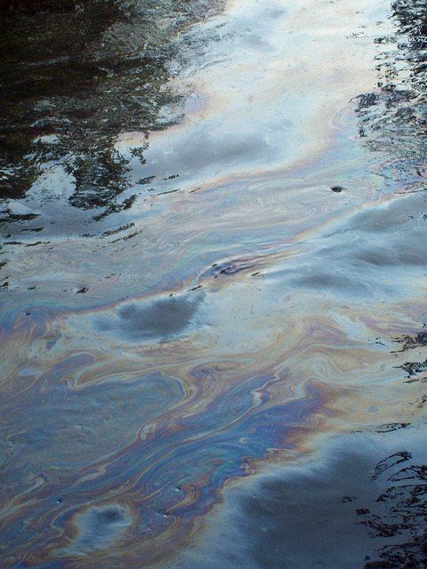 Kalamazoo River tar sands oil spill