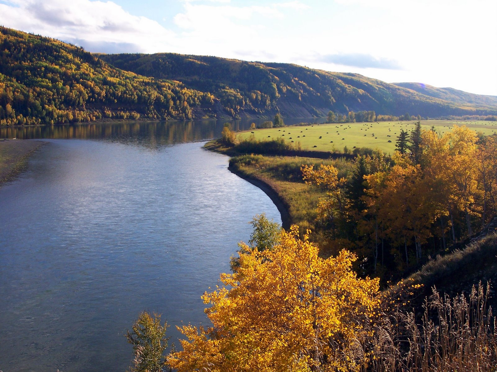 Peace River. Photo by Larry Peterson.