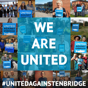 United Against Enbridge Collage