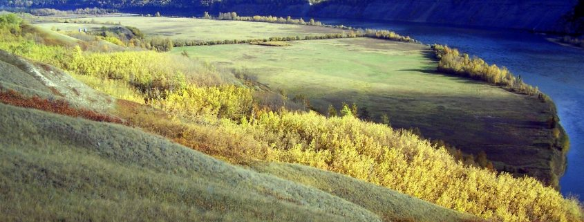 Peace River Valley photo by Larry Petersen