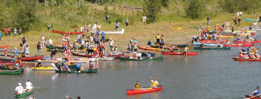 Paddle for the Peace, photo by PVEA