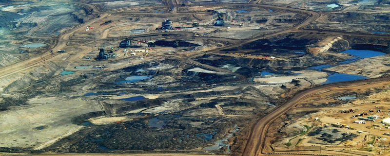 Tar Sands, Alberta photo by Dru Oja Jay, Dominion