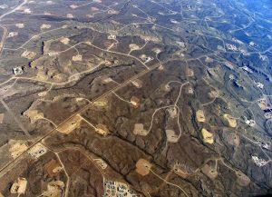 Fracked Landscape - Photo by Simon Fraser University - University Communications