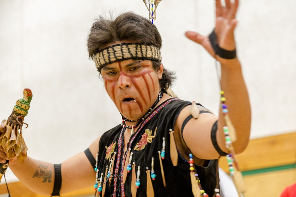 Dancer at Salish Sea Gathering, Photo by Sean Saulnier