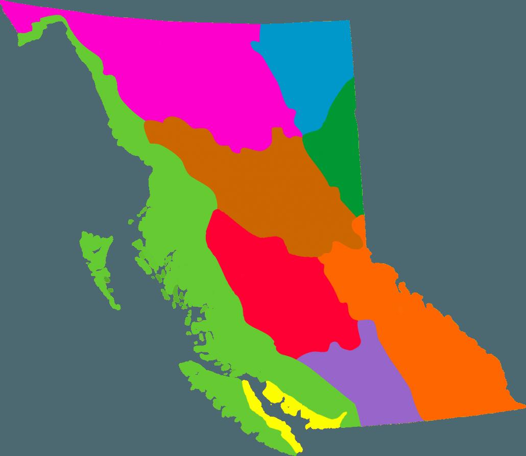 Sierra Mountains California Map.Ecomap Sierra Club Bc
