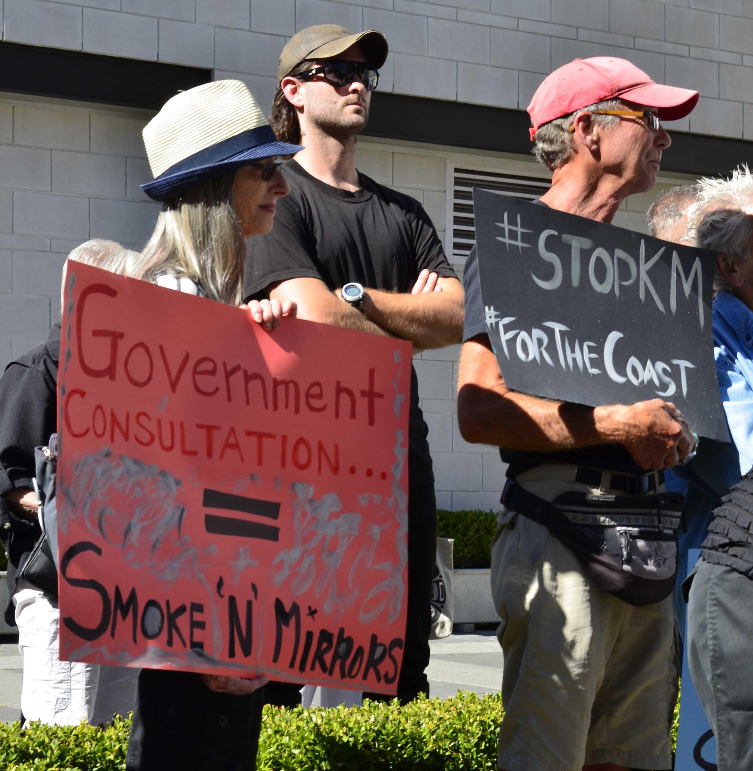 #StopKM rally in Victoria
