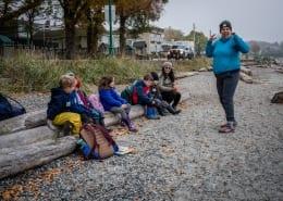A marine day run for a school group by Sierra Club BC's Education program.