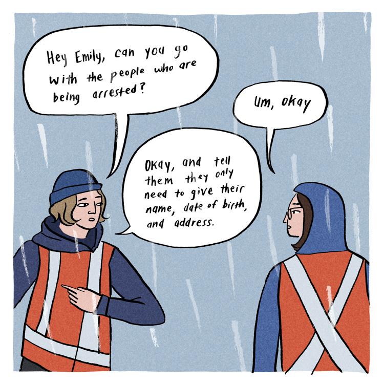 emily thiessen, construction season, web comic, comic, cartoon, tmx, trans mountain, pipeline, stop tmx, no tmx