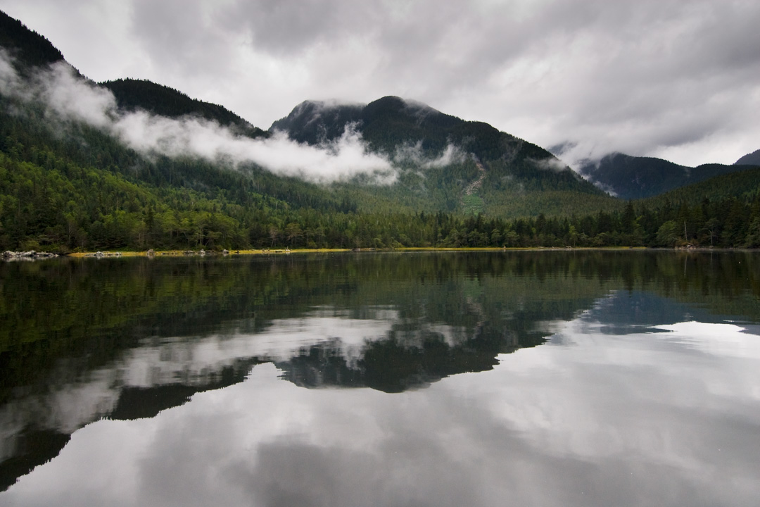 reflections, great bear rainforest, gbr, landscape, water, mirror image
