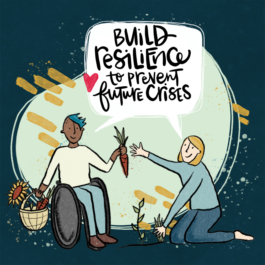 Just Recovery Principle 4: Build resilience to prevent future crises