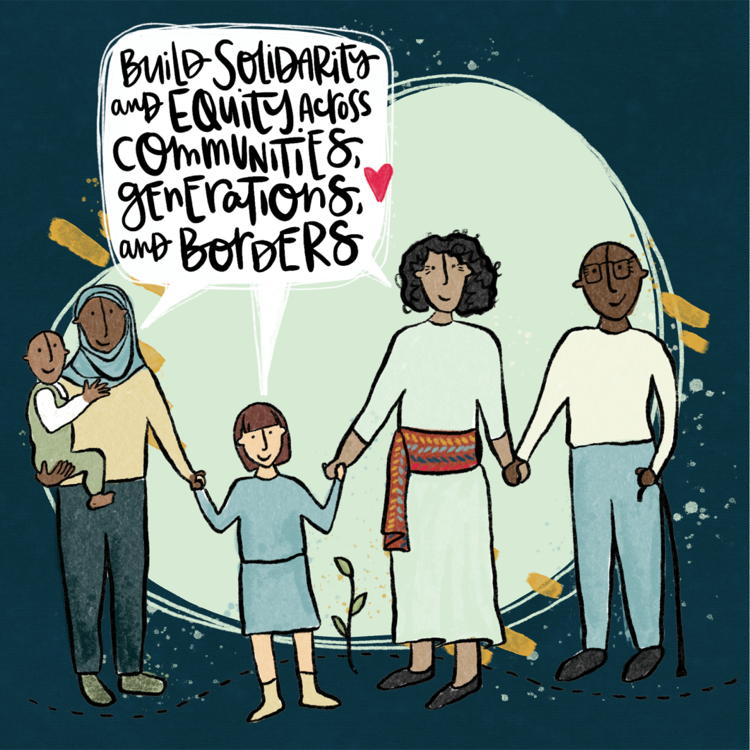 Just Recovery Principle 5: Build solidarity and equity across communities, generations and borders