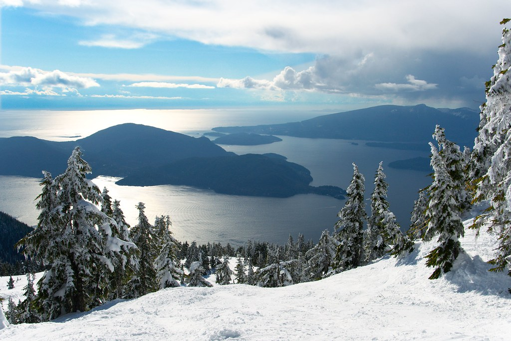 BOWEN ISLAND, CYPRESS BOWL, 50 PLACES, BRITISH COLUMBIA