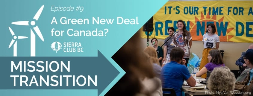 green new deal, podcast, mission transition, clean energy, renewable energy
